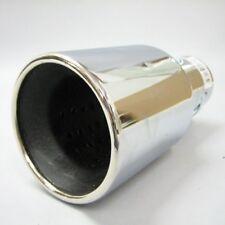Sport de escape universal cromo TUBO Amortiguador Embellecedor Punta cola NUEVO