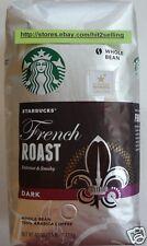 Big Size Starbucks FRENCH ROAST DARK Whole Bean Coffee 40 Oz/1.2 kg Exp.07/2018