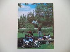 advertising Pubblicità 1987 MOTO APRILIA TUAREG WIND 350