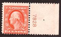 US Stamp #506 ~ MNH OG ~ Plate Number Single [PNS] ~ Always Free Shipping!!!