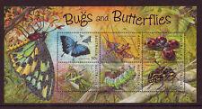 Australia 2003 Bugs Y MARIPOSAS HOJA miniatura Nuevo sin montar, MNH