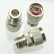 1pce N male plug to RP-N female plug center RF coaxial adapter connector