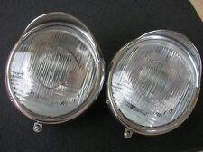 BOSCH HEAD LIGHT ASSEMBLY FITS PORSCHE 356 & VW SPLIT OVAL HEB BUG COX EYE BROWS