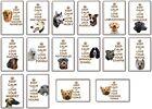 FRIDGE MAGNET -  KEEP CALM LOVE YOUR DOG  (Various Breeds)  Large Jumbo  G-Y