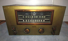 VINTAGE 1950's ALTEC LANSING CONRAC MANUFACTURED 303C TUBE TUNER RADIO METAL