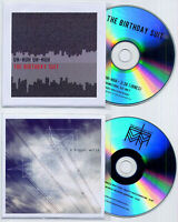 THE BIRTHDAY SUIT pair of UK promo CDs Uh Huh Uh Huh / A Bigger World Idlewild