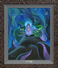 Ursula and Her Messengers - Micheal Humphries - Silver Series On Canvas Disney