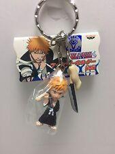 Ichigo & Zangetsu Sword - Bleach Twin Mascot Figure Keychain