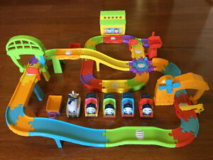 My First Thomas & Friends Railway Pals Discovery Interactive Set 4 Trains Harold