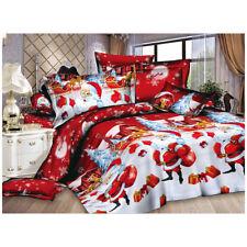 Christmas Home textile Cotton bedclothes high-quality 4pc bedding set (Colo Y0L6