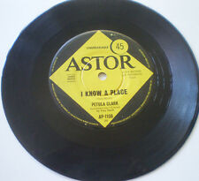 "PETULA CLARK 7""45 ""I KNOW A PLACE / JACK AND JOHN"" 1965 ASTOR AUSTRALIA"