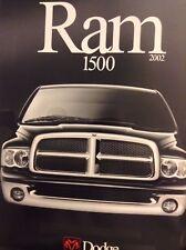 Ram Magazine Brochure Dodge Ram 1500 2002 102517nonrh