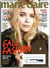 Marie Claire - 2010, September - Mary-Kate Breaks Her Silence, What Women Eat