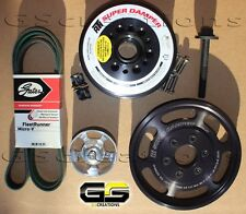 2015-2018 C7 Z06 Corvette LT4 Balancer and Lower Supercharger Pulley KIT