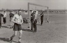 WWII German RP- Soldier- Semi Nude- Gay Interest- Sports- Soccer- Football- 40s
