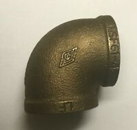 310-007, 1 1/2 Inch Brass Elbow. ***FREE SHIPPING***