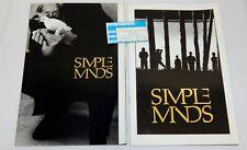 1985 Simple Minds Concert Programs & Ticket Stub