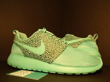 Nike ROSHE RUN ROSHERUN PREMIUM CRYSTAL MINT GREEN BLACK SAFARI 525234-300 DS 10