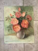 Vintage Floral Still Life By Sue Reed
