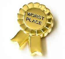Worst Place Pin Just F*Ck Off Co. Loser