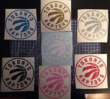 Toronto Raptors Decal With FREE Mini Decal!