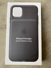 Apple Smart Battery Case with Wireless Charging (for iPhone 11 Pro Max) - Black