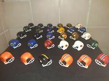 Vintage Mini NFL Football Helmets Gumball Machine Helmets Lot Of 30