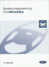 Bedienungsanleitung / Owners manual Ford Streetka 02/04