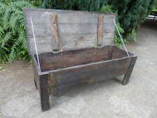 Dough bin, coffer, trunk, chest, oak, 18th century, antique