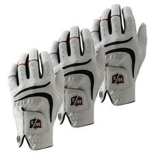 Wilson Staff Grip Plus Golf Handschuh Herren Mikrofaser Einstellbarkeit Komfort