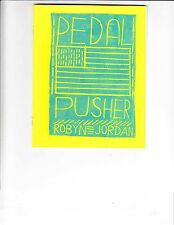 Pedal Pusher #1 VF/NM robyn jordan - hitting tires to pavement from CA to NYC