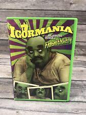 Igormania DVD 2005 The Hilarious House Of Frightenstein 1971 Comedy OOP Rare VG