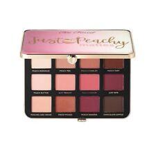 Too Faced Velvet Matte Just Peachy Eye Shadow Make Up Palette 12 Colour