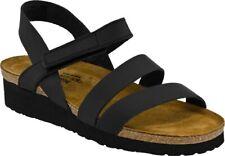 NAOT Kayla Women's Black Leather Strappy Sandals Israel Size 9 / 40