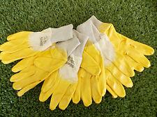 3 Paar Soleco Nitril Schutzhandschuhe Innenhandbeschichtet Größe 10