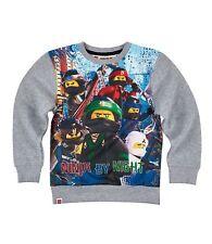 Lego Ninjago Sweatshirt Pullover grau Gr.104