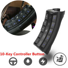 10-Key Steering Wheel Controller Bluetooth Android Radio Player Remote Button