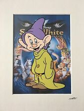 Disney - Snow White - Dopey - Hand Drawn & Hand Painted Cel
