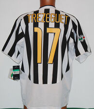 maglia juventus TREZEGUET nike 2003 2004 fastweb NUOVA XL scudetto jersey vintag