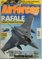 Air Forces Monthly July 2017 Rafale Combat Proven Platform FREE SHIPPING sb