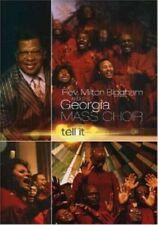 Georgia Mass   -  Tell It   -   New Factory Sealed DVD