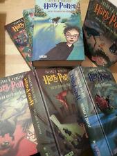 Harry Potter Büchersammlung Band 1-7 komplett, deutsch, gebunden, B-Ware Akzepta