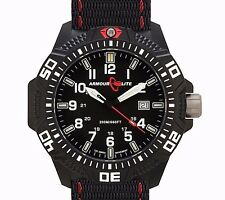 ARMOURLITE CALIBER #AL603 TRITIUM DIVERS WATCH INTERNATIONAL SHIPPING USA DEALER