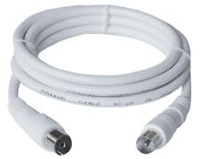 Koax Antennenkabel 10m Koax-Stecker > Koax-Kupplung, 75 Ohm