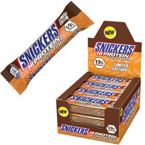 Snickers - HI Protein Bar - Peanut Butter - 12 x  57 g  / Eiweiß Riegel Mars NEU