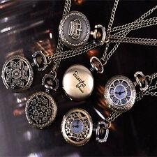 Montres à gousset articles personnels colliers bijoux élégant à la mode agréable