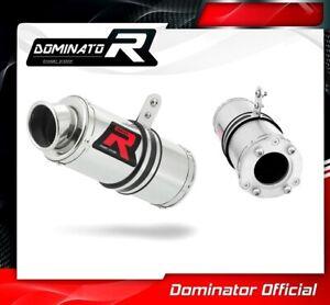 GSXR 1000 K3 K4 Exhaust GP I Dominator Racing silencer muffler 2003 2004