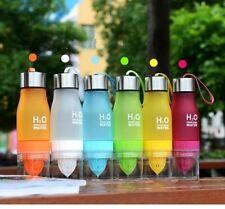 Outdoor Sport PortableWater Bottle Plastic Fruit Juice Infuser Bottle Drinkware