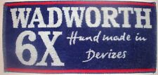Wadworth 6X, Hand Made In Devizes England Beer Bar Towel