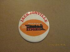 WFL Jacksonville Express Vintage Defunct Pinback Button
